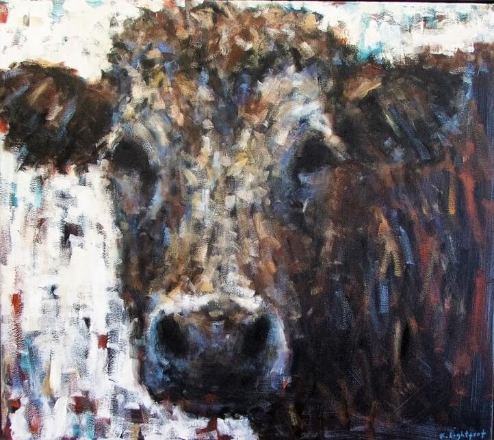 Cow, White